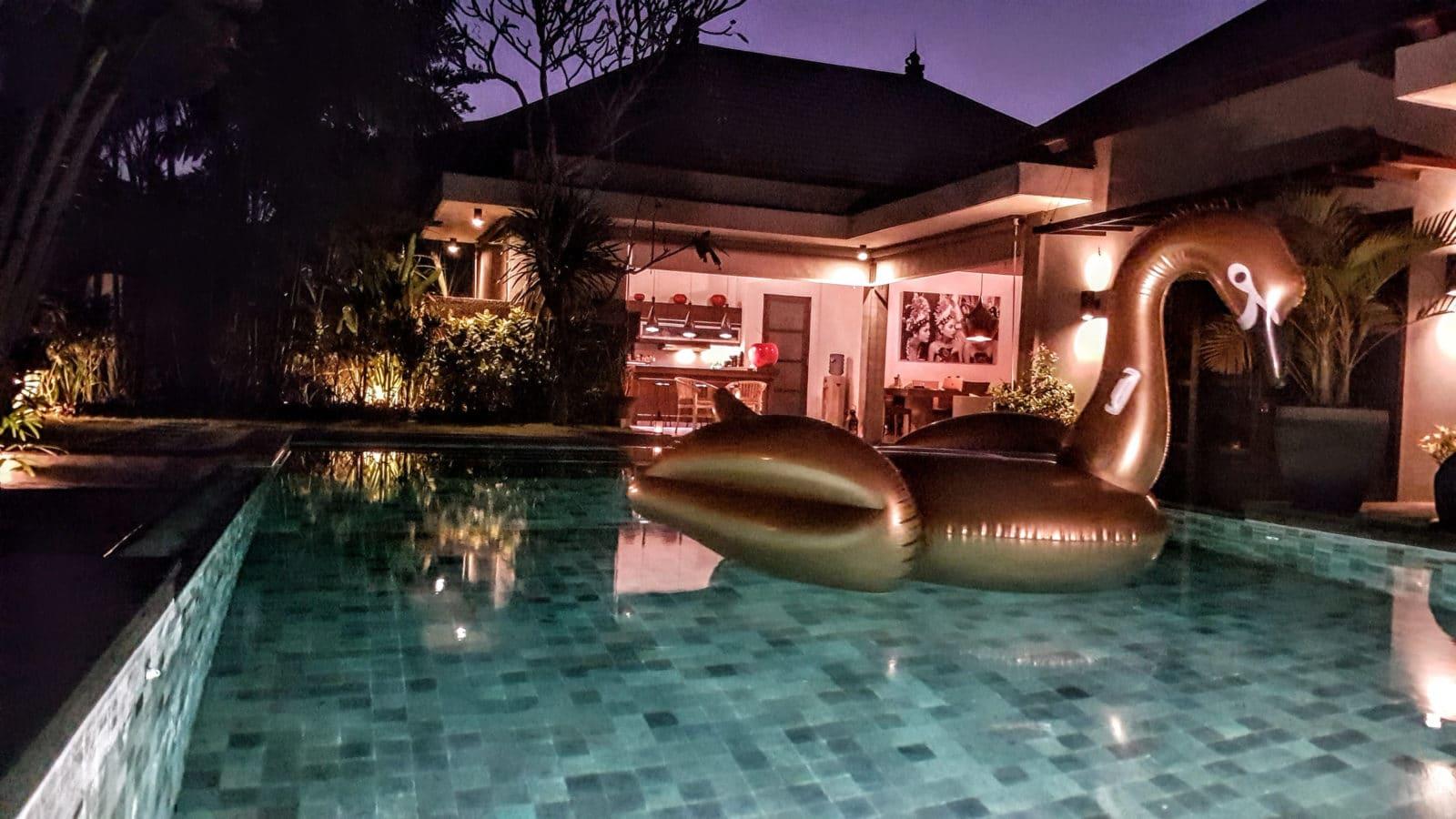 Swimming Pool at Villa Koru - Holiday Villa Seminyak Bali