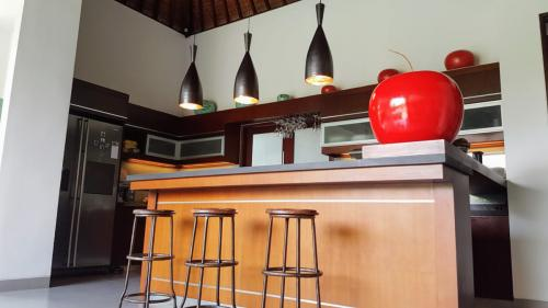 Kitchen Bar at Villa Koru - Luxury Seminyak Villa For Holiday Rental