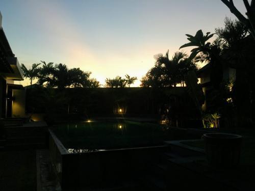 Sunrise at Villa Koru