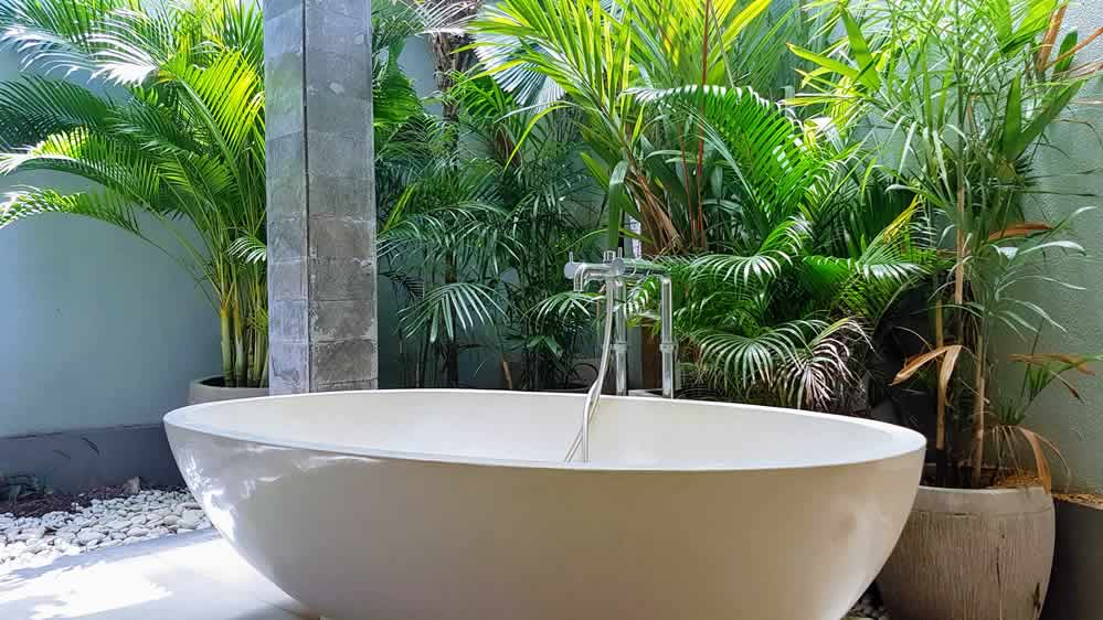 Villa Koru - Soaking Bathtub