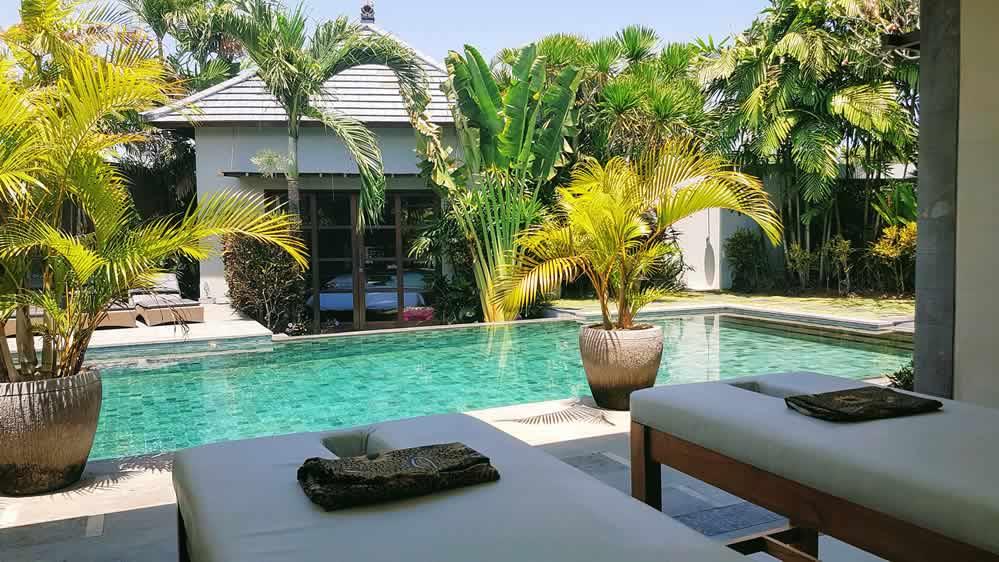 Villa Koru - Massage Deck